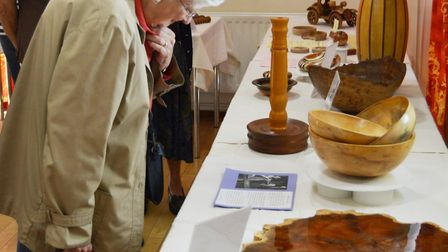 Creatively carved woodwork and intriguing new pieces are on display at the Ely Guild of Woodturners