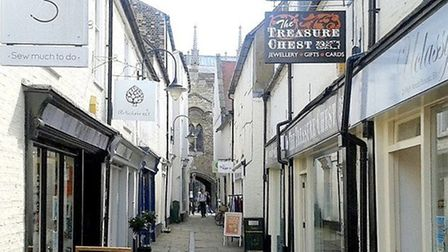 What traders think should be done to revive shopping in Ely High Street. Ely High Passage. Picture: