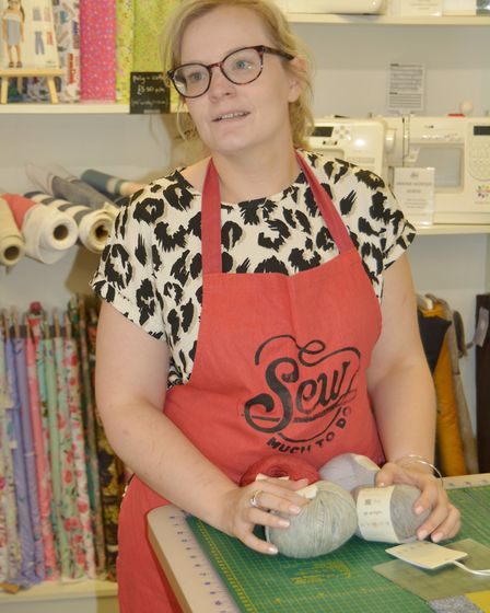 What traders think should be done to revive shopping in Ely High Street. Annabel Butcher, from craft