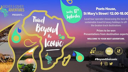 A couple from Ely who launched their own travel company are hosting an event next month to inspire p