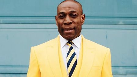 Former world heavy weight champion Frank Bruno is coming to Huntingdon on October 19 and we have tea