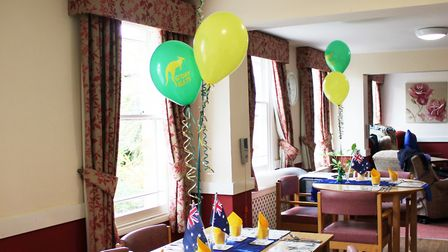 It was a special day at The Gables Care Home as they celebrated the Australian Wattle Day. Picture: