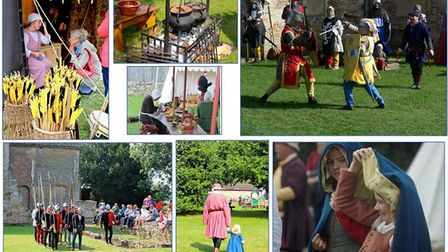 The Farmland Museum and Denny Abbey is holding a Medieval living history event on Sunday 25 and Mond