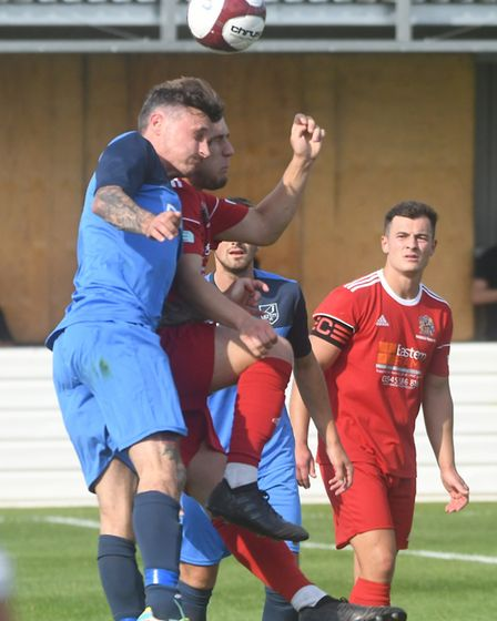 Match day action from the Elgoods stadium at Wisbech where visitors Ely City FC got a well deserved