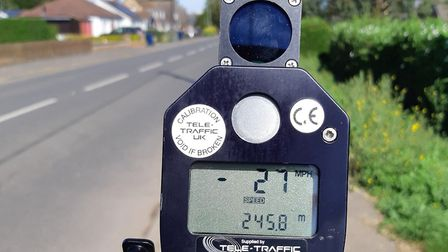Several drivers were stopped by police in Manea and advised about how they were driving as part of a