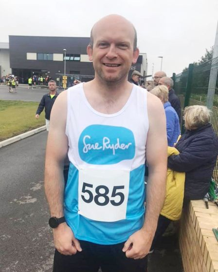 Father-of-three James Moon from March will be taking on the Great North Run to raise money for a hos
