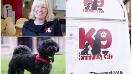 A café in Ely that allows people to bring their dogs and socialise in a safe space has marked its se