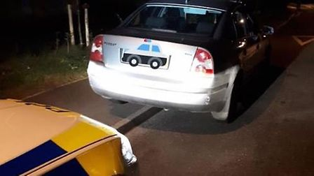 A driver was arrested and had their vehicle seized in Littleport last night (September 4) after they