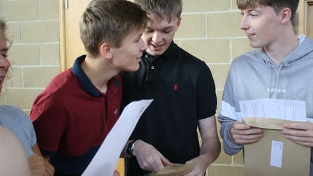 Witchford Village College principal Daniel Baxby has praised his hard-working students on GCSE resul