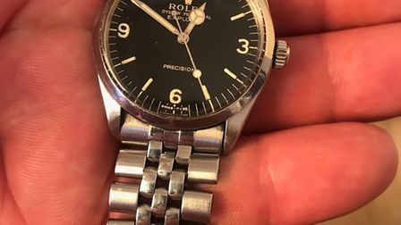The Rolex was taken on July 29 from a leisure centre in Dunmow. Picture: CONTRIBUTED