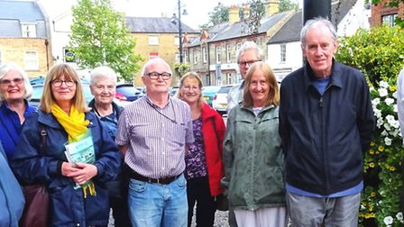 The March Society enjoyed an evening stroll in March West End. The group is in need of more members