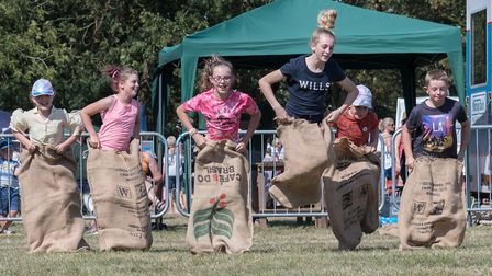 The Countess of Warwick show in Little Easton on the bank holiday weekend hosted a variety of games,