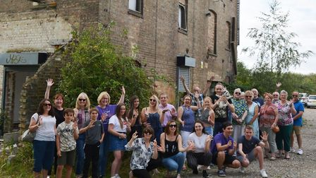 Viva Soham set to transform derelict Spencer Mill as funding in place. Picture: MIKE ROUSE