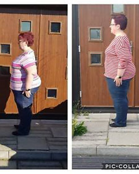 Pictured is Jackie Drawbridge. Super slimmers from March have opened up about their weight loss jour