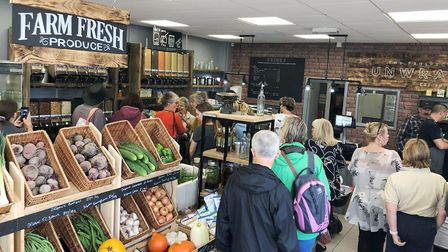 New eco friendly farm shop Unwrapped oens in Ely. Picture: Enterprise East Cambridgeshire