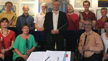Cambridge Clarinet Choir perform for ?enthusiastic audience? at Babylon Gallery in Ely. The concert
