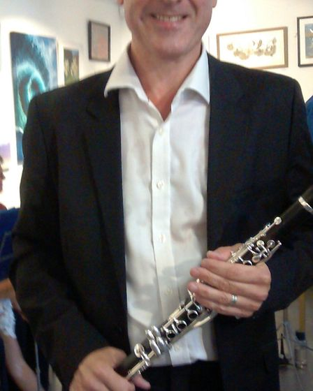 Cambridge Clarinet Choir perform for 'enthusiastic audience' at Babylon Gallery in Ely. The concert