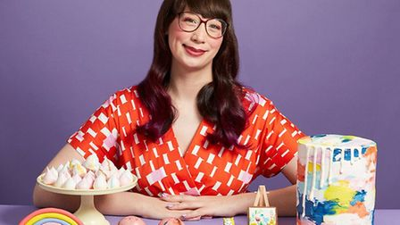 Great British Bake Off finalist Kim-Joy will give a talk at The Maltings in Ely on Tuesday September