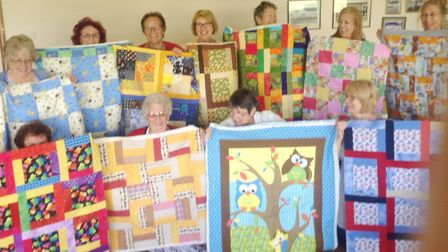 A quilts and crafts event will be held in Ely to raise money for two local charities. Pictured is to