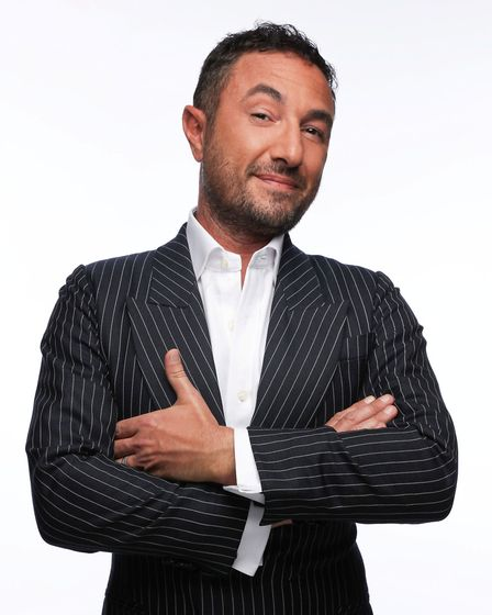 Vincent Simone will star alongside Ian Waite in new variety dance show The Ballroom Boys. Picture: S