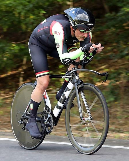 Derek Ricketts racing on the F2/15 course near Cambourne. Picture: DAVEY JONES