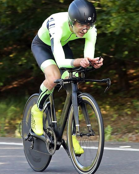 John Manlow racing on the F2/15 course near Cambourne. Picture: DAVEY JONES