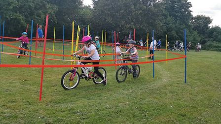 The free cycling event held at Cromwell Community College has been hailed a success. Picture: Suppli