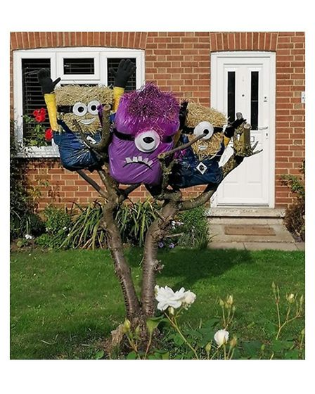 The Parish Magazine published in Little Downham organised a Scarecrow Festival to run between August