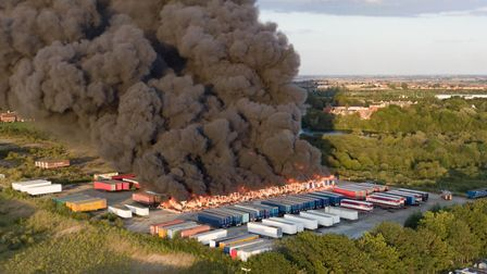 FIVE teenagers have been arrested in connection with a large fire. About £2million worth of damage w