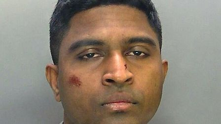 Don Weerakoon, 30, was jailed at Cambridge Crown Court today (11 September) after previously pleadin