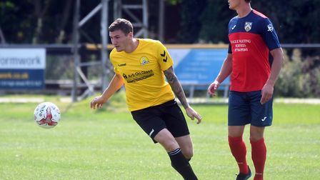 Craig Gillies helped himself to four goals as March Town thumped Wisbech St Mary on Wednesday night.