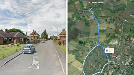 Paula Smith of Little Downham has been banned from driving after being three times over the legal al