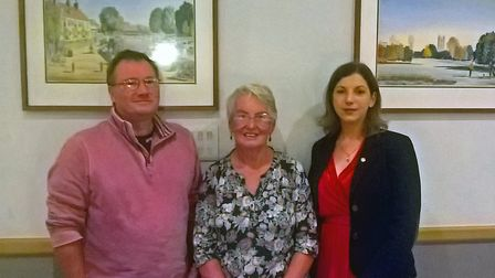The Ely Hereward Rotary Club welcomed two new members at their latest meeting. Bernadette Sheeran an
