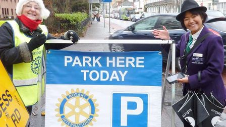 Good causes can get funding from car parking event that raised more than £30,000 last year. Picture:
