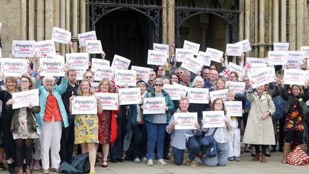 One of Ely's biggest ever political rallies took place on the weekend – in a protest for a public vo