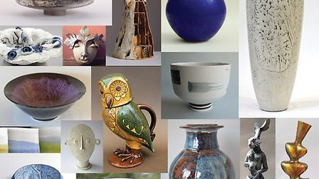 Work created by 15 members of the Anglian Potters group will be on display at the Babylon Gallery in