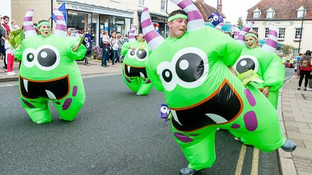 There was plenty to marvel at during last year's Great Dunmow Carnival. Picture: SAFFRON PHOTO