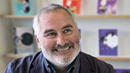 Illustrator and political cartoonist Chris Riddell is coming to Ely on Tuesday September 24 to celeb