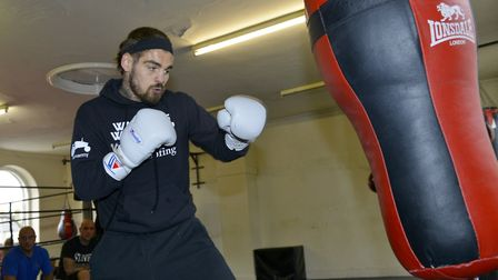 Tyler Goodjohn fights for a world title on Saturday. Picture: ARCHANT