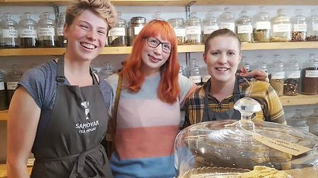 It was a day of sweet treats in Ely as Great British Bake Off star Kim-Joy gave a talk about her new