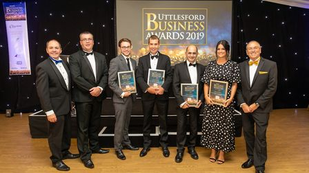 Business Person of the Year finalists at the Uttlesford Business Awards 2019. Picture: DANNY LOO