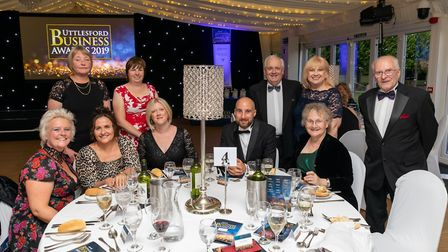Sponsors Stanstead Airport College at the Uttlesford Business Awards 2019. Picture: DANNY LOO