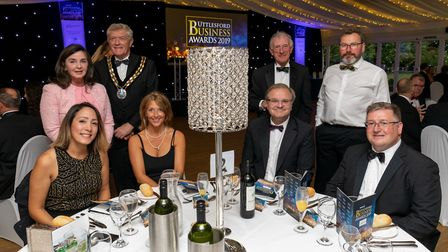 Sponsors Uttlesford District Council at the Uttlesford Business Awards 2019. Picture: DANNY LOO