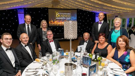 Sponsors London Stanstead Airport at the Uttlesford Business Awards 2019. Picture: DANNY LOO