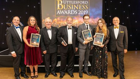 Retailer of the Year finalists at the Uttlesford Business Awards 2019. Picture: DANNY LOO