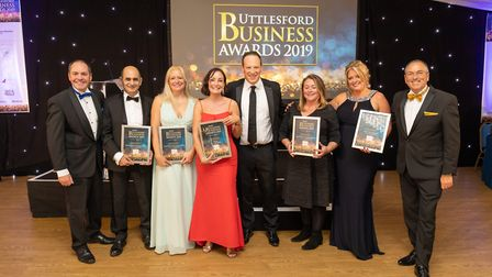 Small Business of the Year finalists at the Uttlesford Business Awards 2019. Picture: DANNY LOO