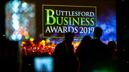 Revellers on the dance floor to celebrate the end of the Uttlesford Business Awards 2019. Picture: D