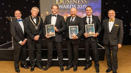 New Business of the Year finalists at the Uttlesford Business Awards 2019. Picture: DANNY LOO