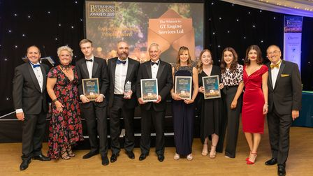 Supporting Young People Award finalists at the Uttlesford Business Awards 2019. Picture: DANNY LOO
