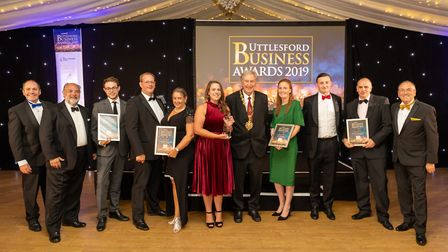 Family Business of the Year finalists at the Uttlesford Business Awards 2019. Picture: DANNY LOO